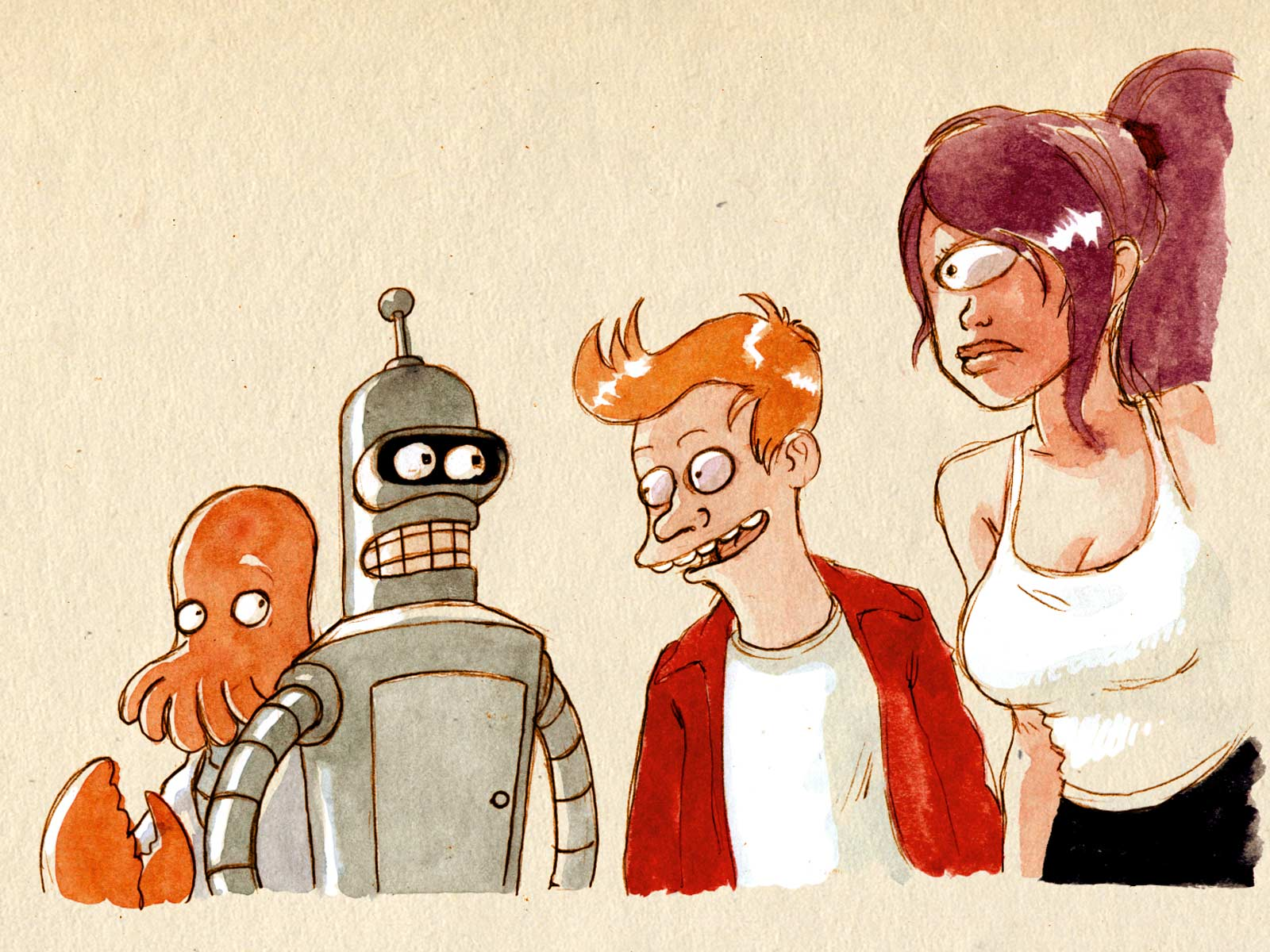 Futurama Hentai Tumblr throughout le fan-art de la semaine | bouletcorp